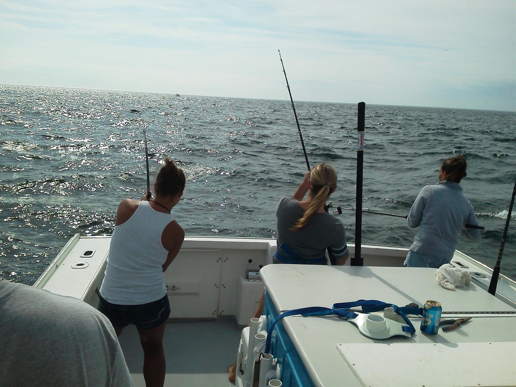 Triple catch fishing charter cape cod ma