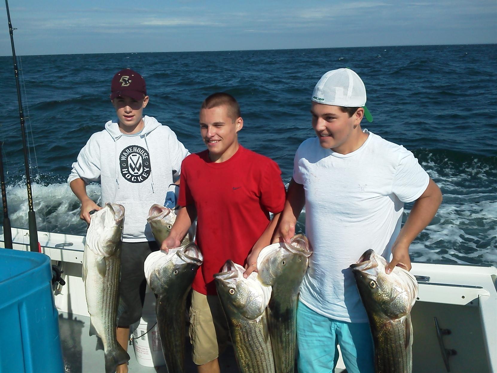 fishing charters cape cod mass
