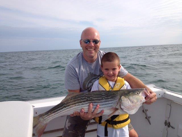 family striped bass cape cod